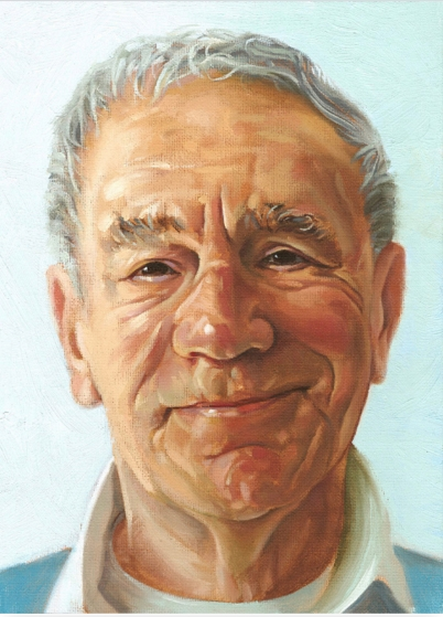 Mike Mandish (original oil painting by Dan Mandish)